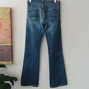 7 For All Mankind Jeans - 7 FOR ALL MANKIND Vintage flare low rise